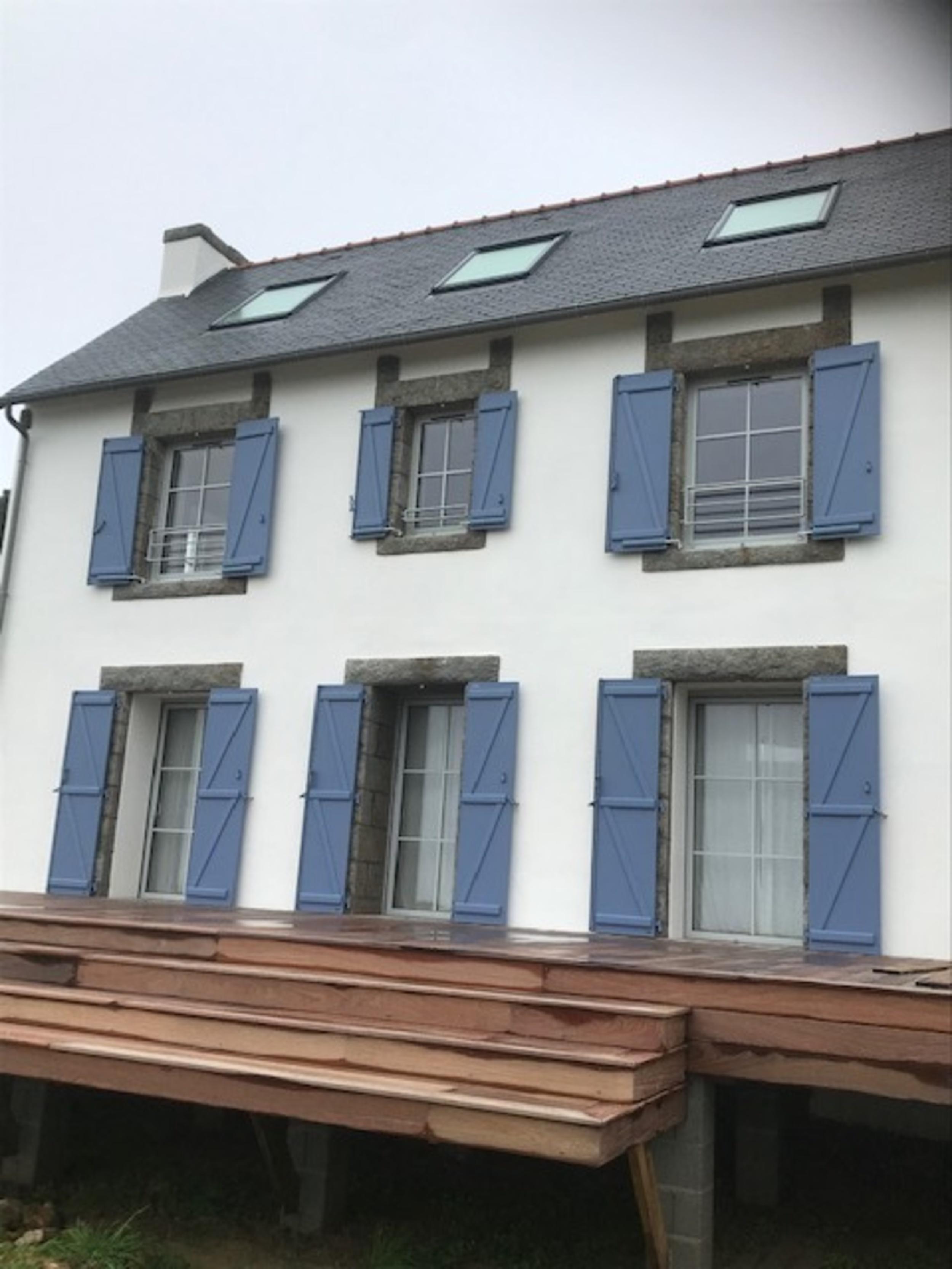 Terrasse bois et rénovation volets alu