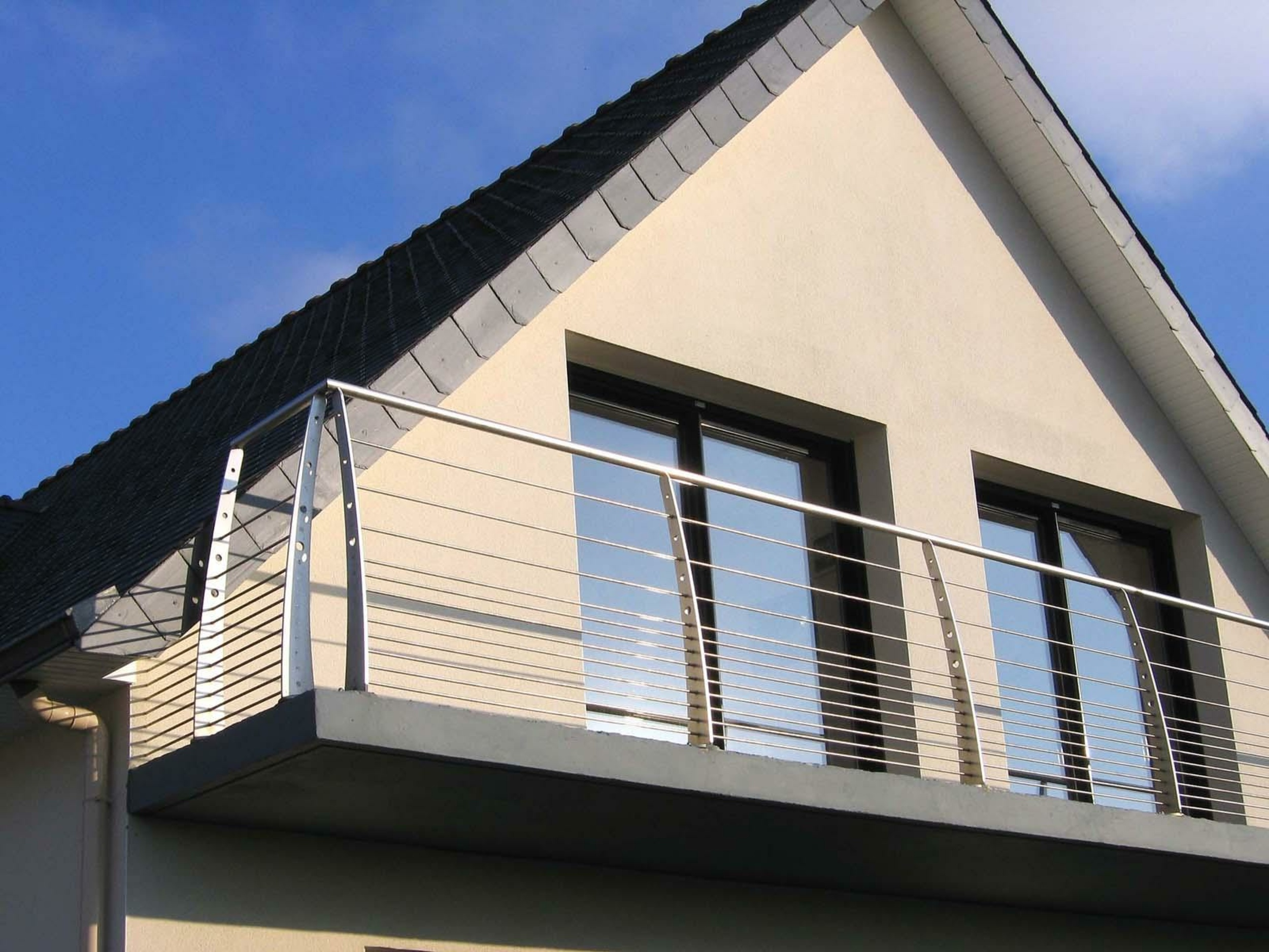 Garde-corps métal balcon