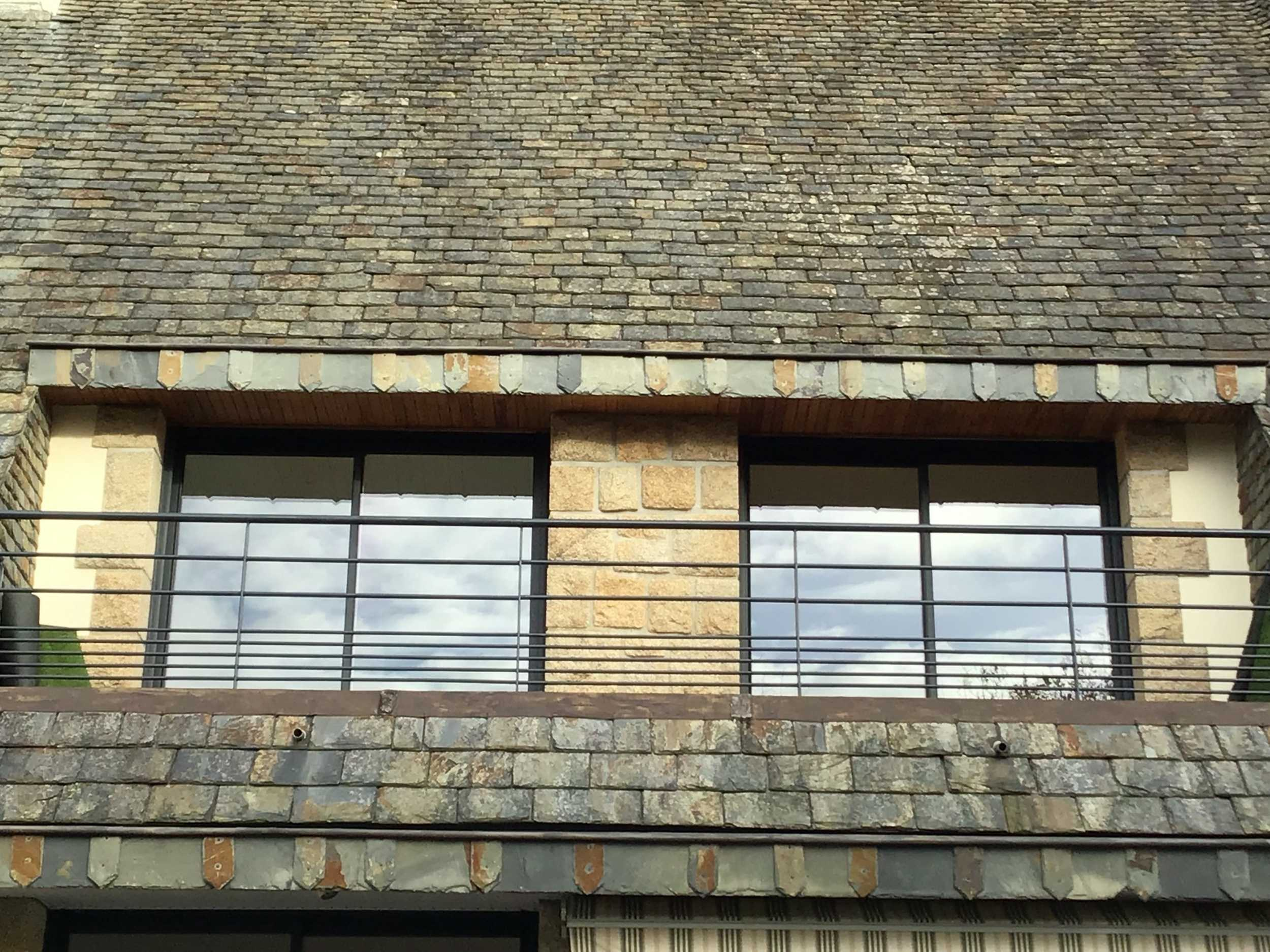 Pose fenêtres coulissantes alu - Concarneau
