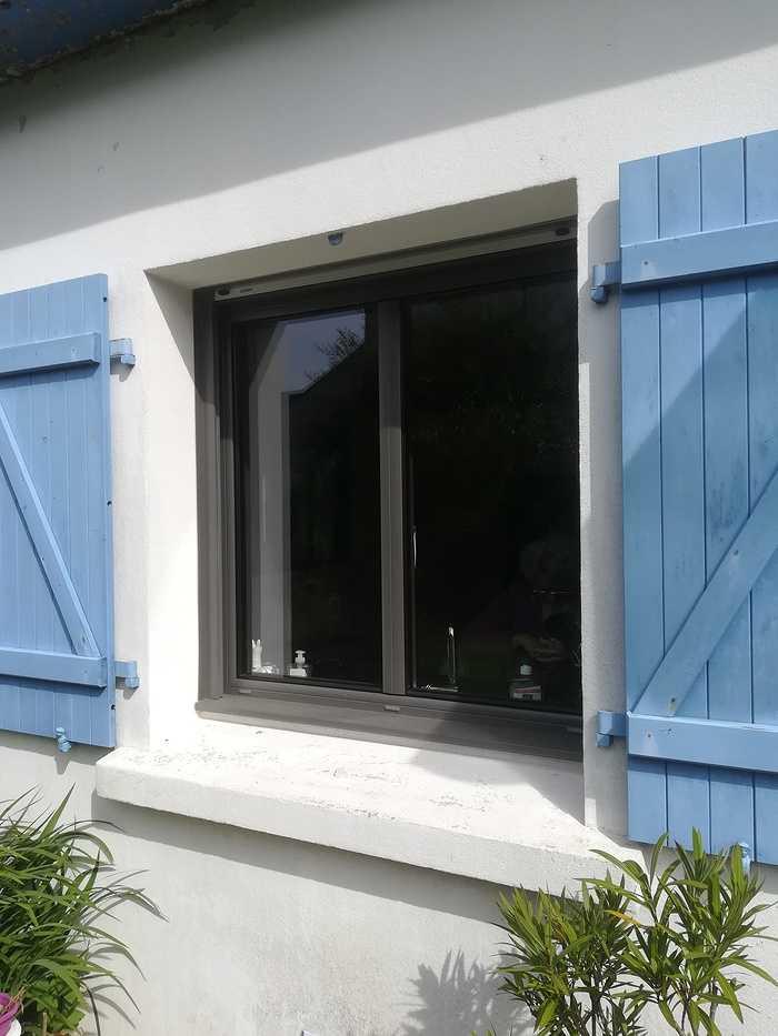 Rénovation fenêtre coulissante alu et fenêtre fixe 0