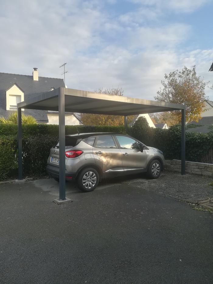 Installation carport alu carport