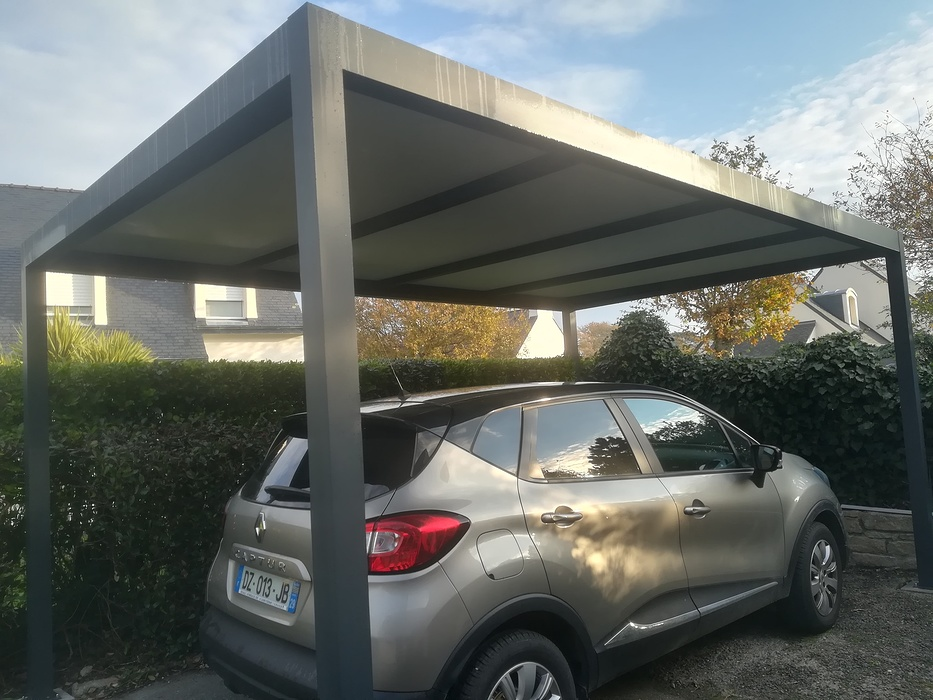 Installation carport alu 0