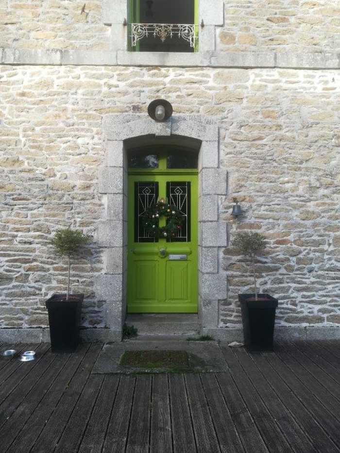 Porte d'entrée et menuiseries mixtes- avant / après portedentreeavant