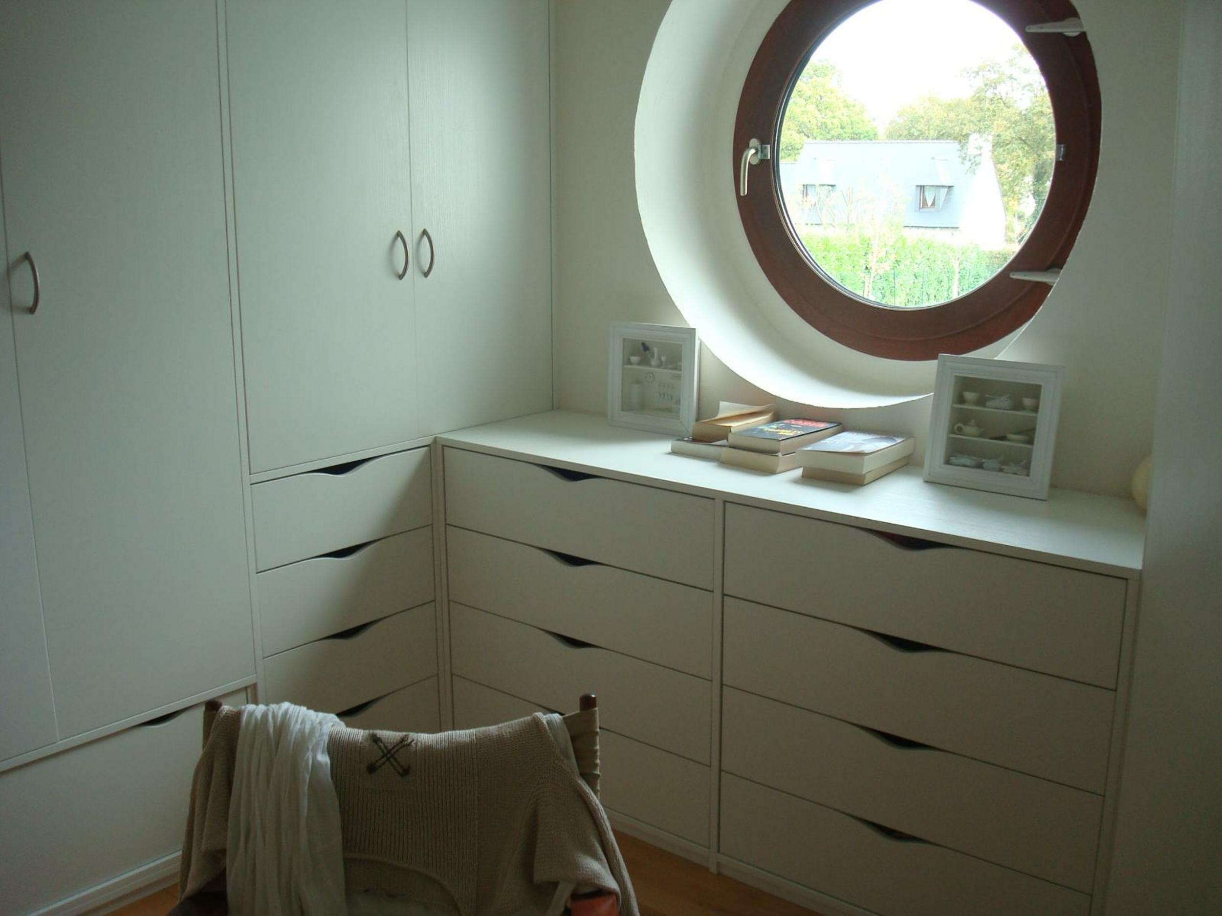Dressing et commode avec tiroirs