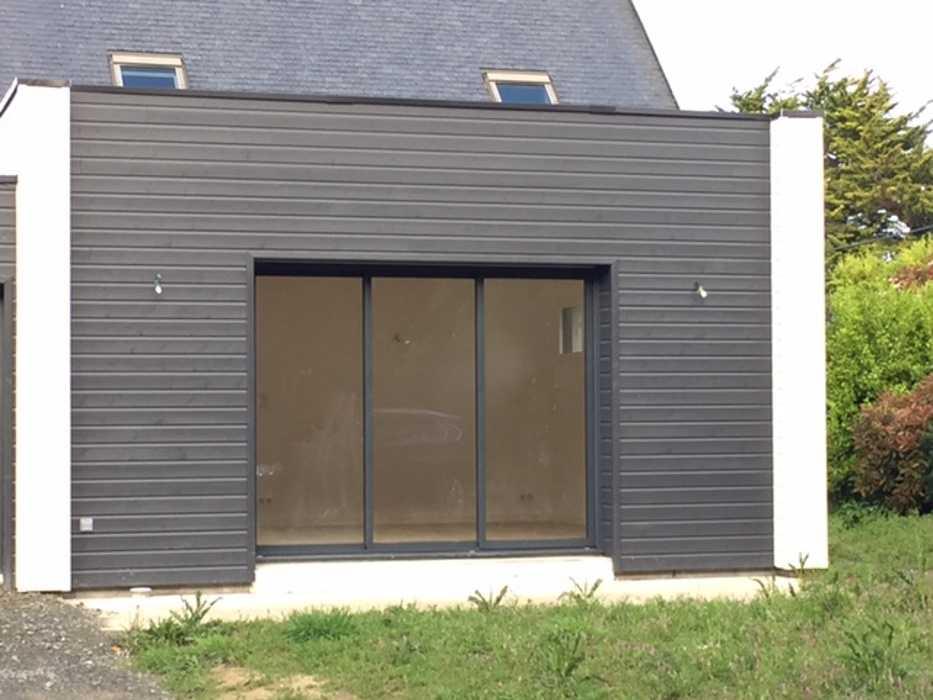 Extension bois et bardage bois garage bardagebois